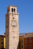 Apponale Tower Riva del Garda Italy Stock Photo
