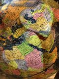 Apportez l'amour au monde Images libres de droits