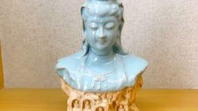 Appréciation des expositions d'art chinoises antiques image stock
