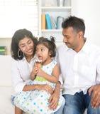 Apprécier indien de famille images libres de droits