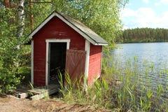 Apprécier l'été en Finlande Photo stock