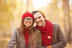 Apprécier l'automne Image stock