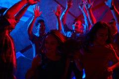 Apprécier la disco Photo libre de droits