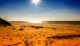Apprécier la plage Image stock