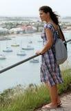 Apprécier la vue de Marigot Photo stock