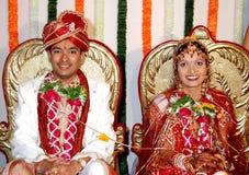 Apprécier le bonheur matrimonial Photographie stock libre de droits