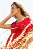 Apprécier le soleil Photographie stock libre de droits