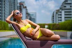 Apprécier les vacances photographie stock libre de droits