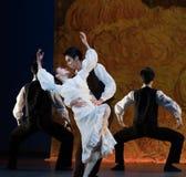 Appréciez chaque autre-ballet la fille d'Arles Photos stock