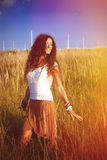 Appréciez en soleil et nature photos stock