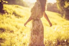 Appréciez en soleil La nature est belle au ressort photo libre de droits
