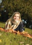 Appréciez l'automne photo libre de droits