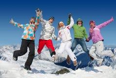Appréciez l'hiver Photos stock