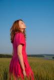 Appréciez la lumière du soleil Images libres de droits