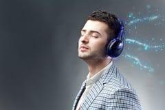 Appréciez la musique image libre de droits