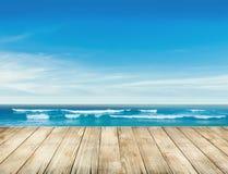 Appréciez la vie à la plage Photos libres de droits
