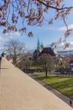 Appréciez la vieille ville de bel Erfurt image stock