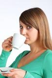 Appréciez le café Image stock