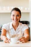 Appréciez le café frais ! images libres de droits