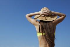 Appréciez le moment de vacances photographie stock libre de droits