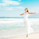appréciez le soleil Images libres de droits