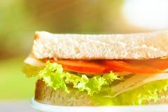 Appréciez un déjeuner bien équilibré images stock