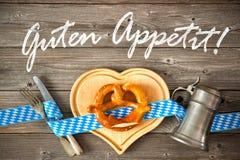 Appréciez votre repas Image libre de droits