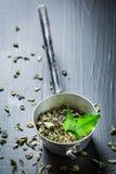 Appréciez votre thé vert photos libres de droits
