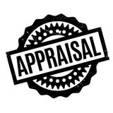 Appraisal rubber stamp. Grunge design with dust scratches. Effects can be easily removed for a clean, crisp look. Color is easily changed Stock Photo