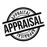 Appraisal rubber stamp. Grunge design with dust scratches. Effects can be easily removed for a clean, crisp look. Color is easily changed Royalty Free Stock Photos