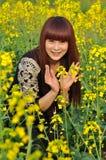 Appréciez le bonheur Photo libre de droits