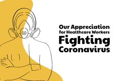 Free Appreciation For Healthcare Workers Fighting Novel Coronavirus COVID-19 Or 2019-nCoV. Template For Background, Banner Royalty Free Stock Photos - 178913458