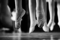 Apprendimento ballare 3 Fotografie Stock