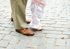 Apprendimento camminare Fotografia Stock