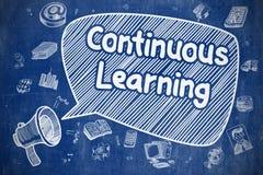Apprendimento continuo - concetto di affari Immagini Stock