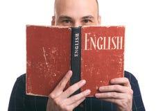 Apprendimento del concetto inglese Immagini Stock Libere da Diritti