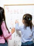 Apprendimento di infanzia Fotografia Stock Libera da Diritti