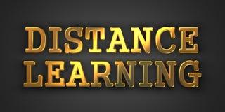 Apprendimento a distanza.  Concetto di affari. Immagine Stock Libera da Diritti