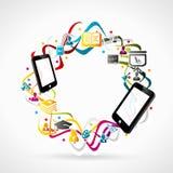 Apprendimento mobile Fotografia Stock