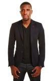 Apprendista africano in un vestito Fotografia Stock Libera da Diritti