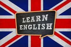 Apprenez l'anglais photo libre de droits