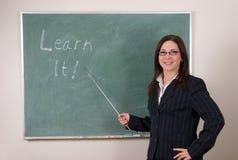 Apprenez-le ! image libre de droits