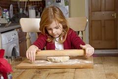 The Apprentice Baker. Royalty Free Stock Photos