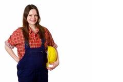 Apprentice girl Royalty Free Stock Image