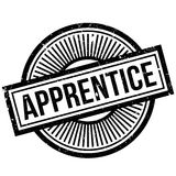 Apprentice rubber stamp Stock Images