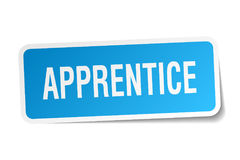 Apprentice sticker Stock Photography