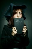 Apprentice witch Stock Photo