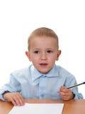 Apprentissage d'enfant Photos libres de droits