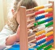 Apprentissage de l'arithmétique Images stock