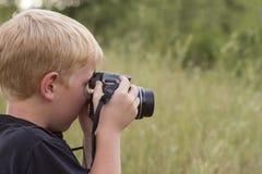 Apprentissage de la photographie Images stock